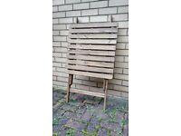 Ikea Askholmen foldable garden table