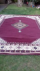 large carpet/rug too big for our rooms. 9ft.x 12ft