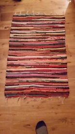 Quirky, colourful 'rag' rug - great feature to brighten any room