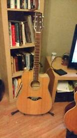 Turner Solid Top Electro Acoustic Guitar