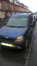 Renault Kangoo 1.9 diesel MPV, mot'd for sale /swap why