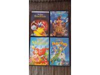 4 Disney DVD's £5.