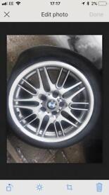 BMW M Sport 17 Inch Alloys BMW 528I SE 1999 Wheels Rims