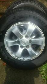 TOYOTA LANDCRUISER WHEELS AND TYRES