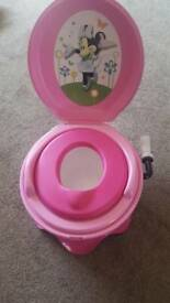 MINNIE MOUSE CHEERING HANDLE POTTY