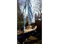 Enterprise Sailing Dinghy E6132