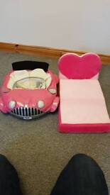 Build a bear car and bed