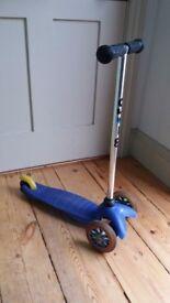 Mini Micro Scooter in blue