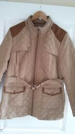 £15. 'AUTHENTIC' brand (BHS) quilted jacket. Size 18.