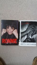 ronnie wood and keith richards biographies