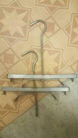 Ladder roof clamps