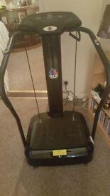 Gym master vibrating machine