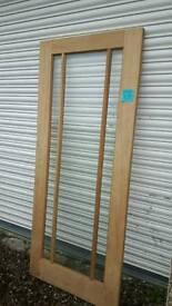Oak Door 33 x 78