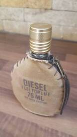Diesel fuel for life edt 75ml (NEARLY FULL)