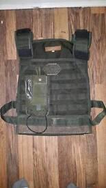Real Black Ops vest issued in Afghanistan Kandahar.