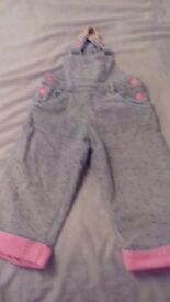 Overalls for girl 12-24 months
