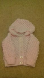 Handmade knitted Jacket for Newborns