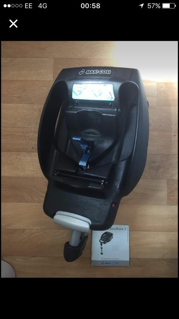 Maxi Cosi Easy Base 2in Newquay, CornwallGumtree - Maxi cosi easy base 2 car seat base in excellent condition. Complete with instruction manual. 07969899076Ben