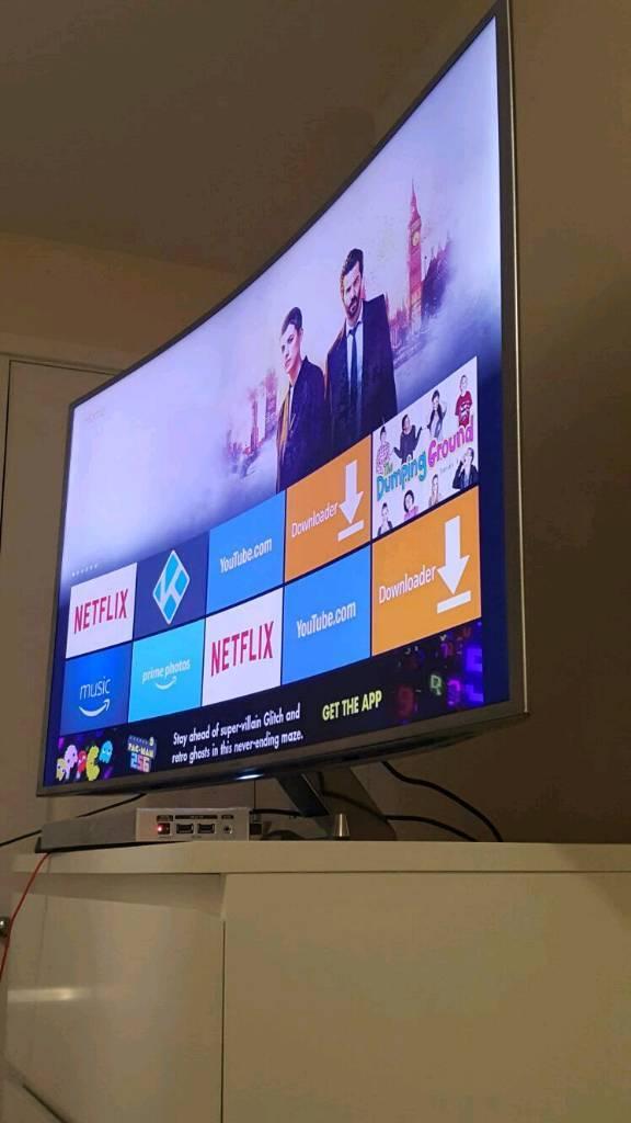 "Samsung Curved 48"" UE48JS9000 Series 9 Ultra HD 4K Nano Crystal Smart 3D Curved LED TV"