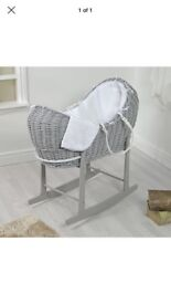 Pod type Moses basket used for four weeks