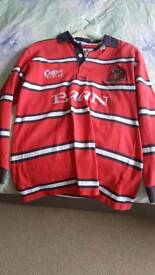Small men's Gloucester rugby shirt