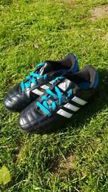 Adidas football boots kids size 12