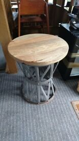 Antique vintage small coffee table