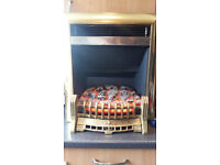 Electric Fire For Sale with solid brass bottom grill