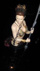 Princess Leia Jabba's Slave STAR WARS Gentle Giant 274 OF 4200 Collectible Mini Bust