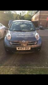 2008 Nissan Micra, Automatic, 3 doors, Low mileage, Drives great.
