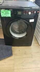 BEKO 8KG LOAD 1200 SPIN WASHING MACHINE IN BLACK
