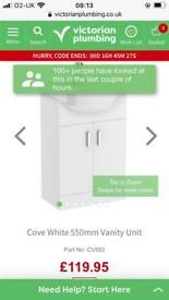 Basin vanity unit