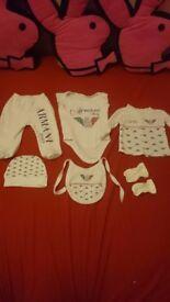 Baby 0-3 Armany set
