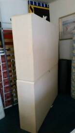 King size bed base with headbo£20