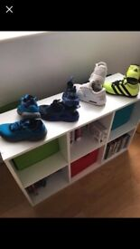 Boys nike and adidas trainers.. size 1...