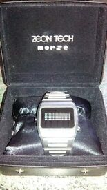 ZEON TECH - MORSE CODE DIGITAL WATCH