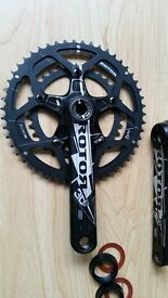 Rotor 3D F BB30 chainset 50/34 172.5 11 speed sram/shimano excellent condition
