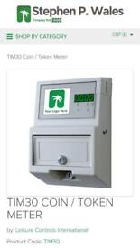 Coin mechanism for prepay