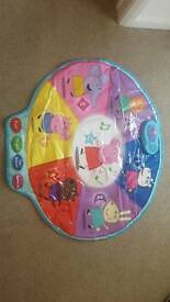Peppa pig and friends musical playmat