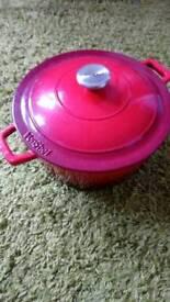 Red Vonshef Crock-Pot 4L capacity