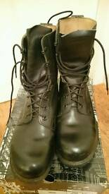 Size 9 army military boots air cadets