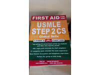 First Aid for the USMLE Step 2 Clinical Skills, 2nd Edition - Brand New, Half Price!