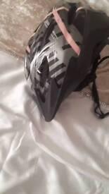 Cycle helmet used