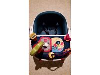 Mamas and Papas Bud booster seat with tray