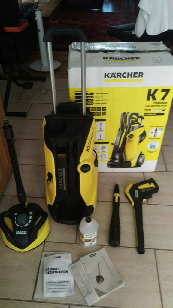 karcher k7 premium full control plus pressure washer in. Black Bedroom Furniture Sets. Home Design Ideas