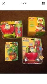 BRAND NEW Nuby First Solids, Baby Led Feeding & Teether Sets