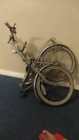 Foldable Bike with bike lock