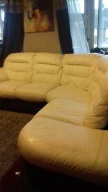 full leather sofa