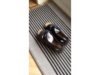 Hotter florence navy sandals brand new