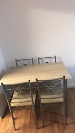 4 SEATER WOODEN TABLE CHEAP!!!